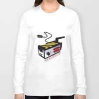 ghostbusters Long Sleeve T-shirts featuring Ghostbusters by JAGraphic