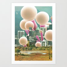 atmosphere 53 · Dot City Art Print