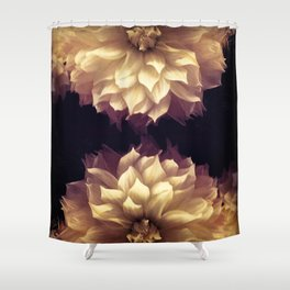 Dahlia Dream IV Shower Curtain