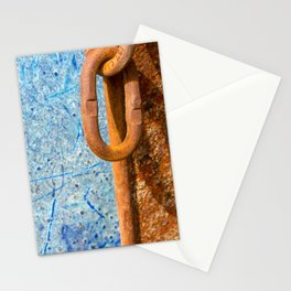 Rusty Link Stationery Cards