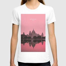 Kolkata Palace, India Travel Artwork T-shirt