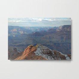 Grand Canyon in Winter Metal Print