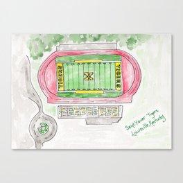 Saint Xavier High School Field, Tigers, Louisville, KY Canvas Print