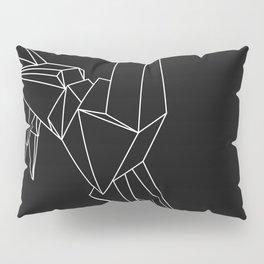 Origami Unicorn Pillow Sham