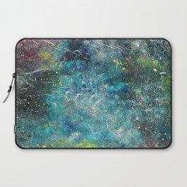 A galactic ocean - Painting Laptop Sleeve