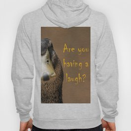 A funny duck Hoody