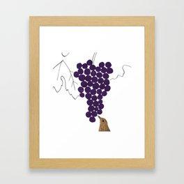 How to make wine, calendar 2013 Framed Art Print