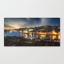 Panoramic Porto Potugal Canvas Print