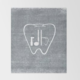 RDH Tooth Throw Blanket