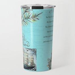 Tea Tree Oil. Travel Mug