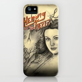 Hedwig and the angry Hertz iPhone Case
