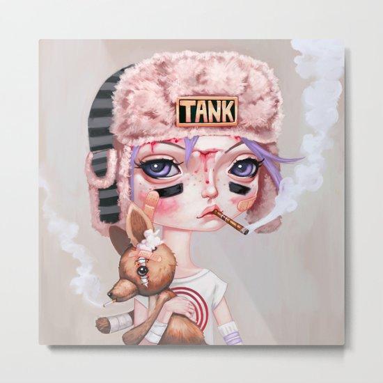 Tank Girl and Booga Metal Print