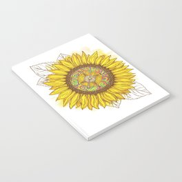 Sunflower Compass Notebook