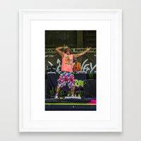 riff raff Framed Art Prints featuring RiFF RAFF by Ashton Garner