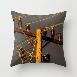 Circuit Breaker Throw Pillow
