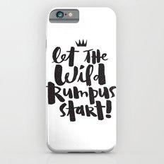 WILD RUMPUS iPhone 6s Slim Case