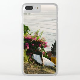 Views from Paradise Clear iPhone Case