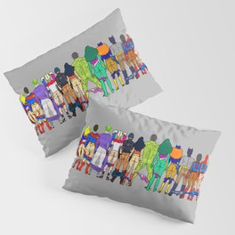 Superhero Butts - Power Couple Pillow Sham