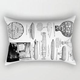 Airships / Air Balloons II Rectangular Pillow