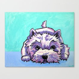 Kashi the Westie Canvas Print