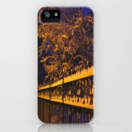 Chicago in Snow: Branches and Fences (Chicago Winter Collection) iPhone Case