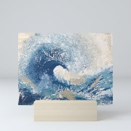 The Great Wave Abstract Ocean Mini Art Print