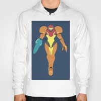 samus Hoodies featuring Samus(Smash) by samaran