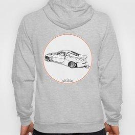 Crazy Car Art 0200 Hoody