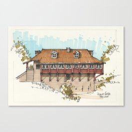 Watermill Canvas Print