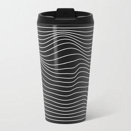 Minimal Square Warp Travel Mug