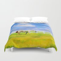 alone Duvet Covers featuring Alone by ThePhotoGuyDarren