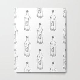 Tequila Pattern Metal Print