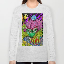 Bulb Brain Critic Destroyer Long Sleeve T-shirt
