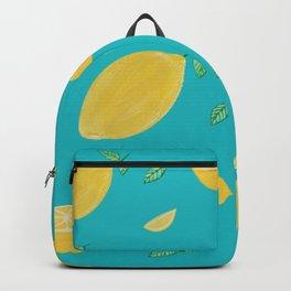 Mellow lemon yellow Backpack