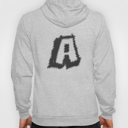 A Capital A In A Stylish Design Hoody