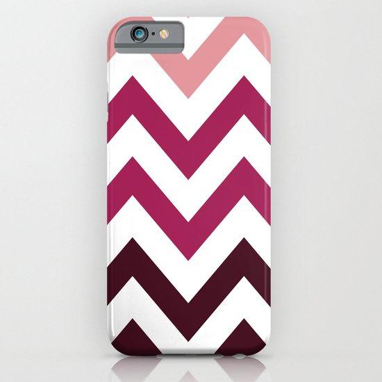 PINK FADE CHEVRON iPhone & iPod Case