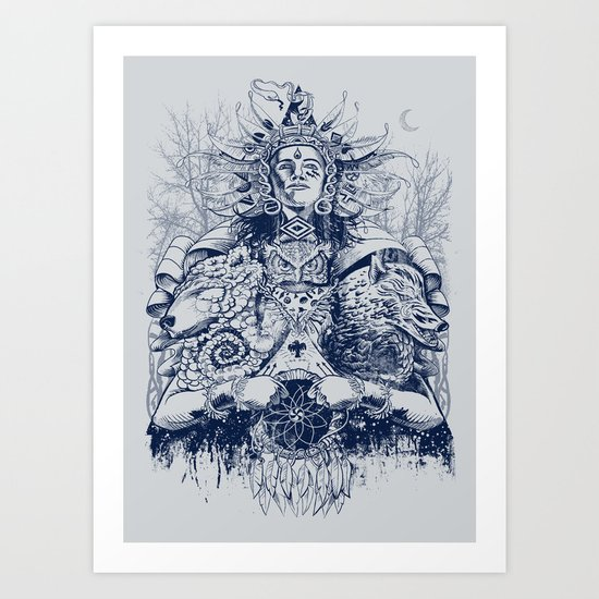 Spirit Dreams Art Print