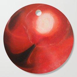 Red Dancer in the Sky Cutting Board