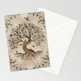 Tree of Life - Yggdrasil  Stationery Cards