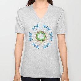 Transformation Nature Star Mandala Unisex V-Neck