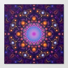"""""""Guardian"""" Mandala painting Canvas Print"""