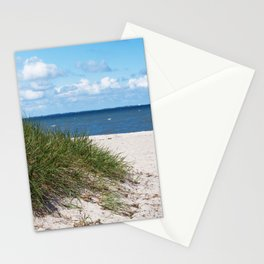 North sea beach Stationery Cards