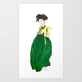 Mi-in-do 1700s_Solnekim Art Print