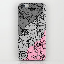 Demigirl flowers iPhone Skin