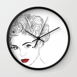 Primadonna Girl - Electra Heart Wall Clock