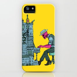 The Undead Pianist iPhone Case