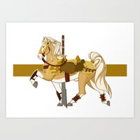 fili Art Prints featuring Fili by MarieJacquelyn