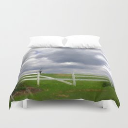 One Hot Summer Day Duvet Cover