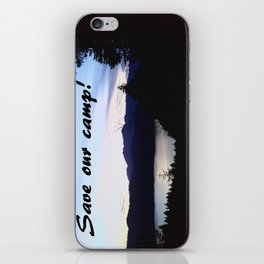 Save Our Camp! -Dusk iPhone Skin