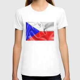 Czech Republic Flag T-shirt